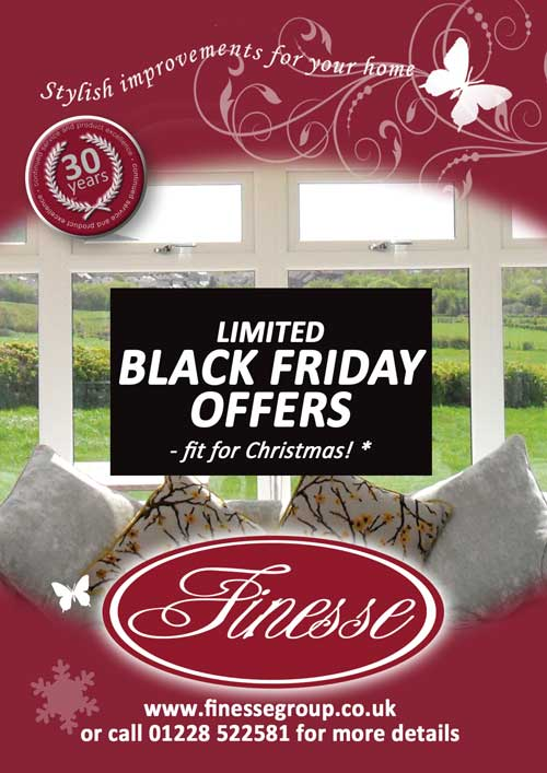 Order by Cyber Monday - Fit for Christmas!*